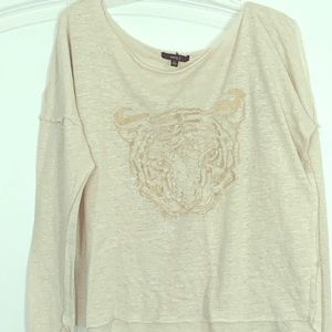 Very J Long Sleeve Tiger Tee - Flawless Condition